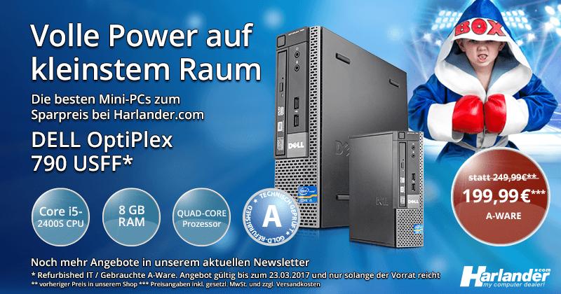 Beitragsbild: Volle Power, kleinster Preis – Mini-PCs » Newsletter 249