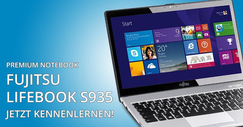 Fujitsu Lifebook S935 Premium-Notebook