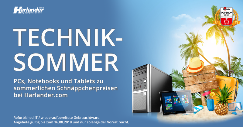 Technik-Sommer! Spitzen-Notebooks, Tablets & PCs » Newsletter 315