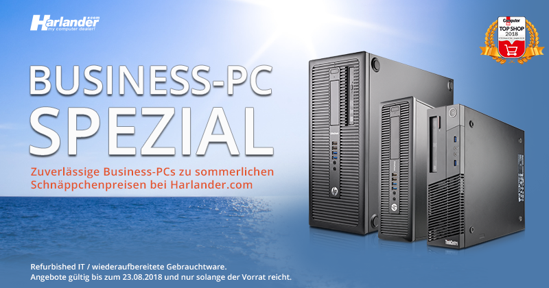 Business-PC-Spezial! Top-PCs zu Schnäppchenpreisen » Newsletter 316