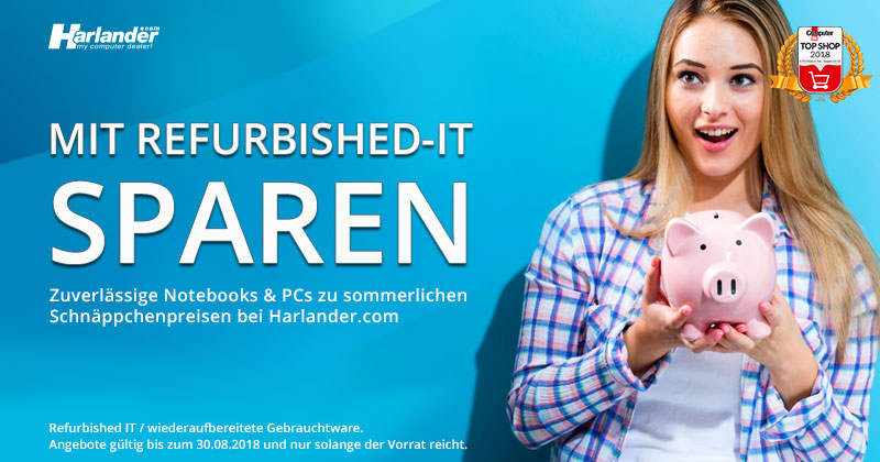 Sparen mit Refurbished-IT » Newsletter 317