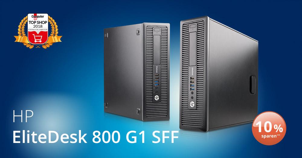 Deal der Woche: der HP EliteDesk 800 G1 SFF für Ihr Büro