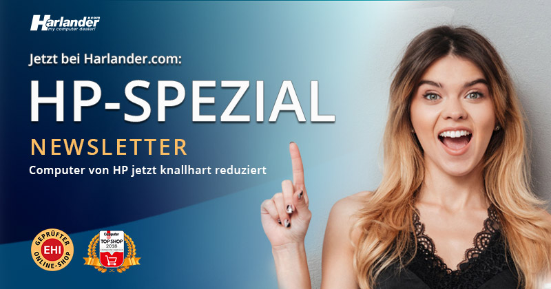 HP-Spezial bei Harlander – Notebooks & PCs  » Newsletter 320