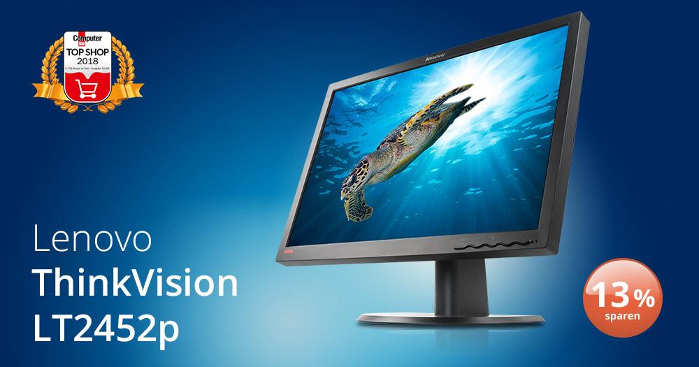 Deal der Woche: Top-Monitor von Lenovo (LT2452p)