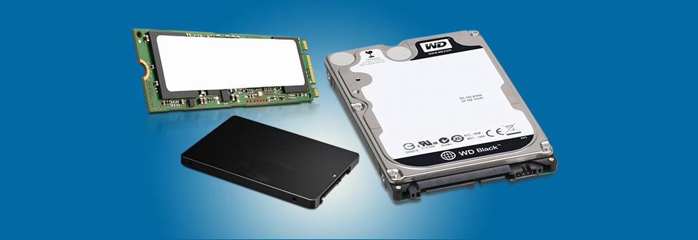 Bild von SSD und HDD