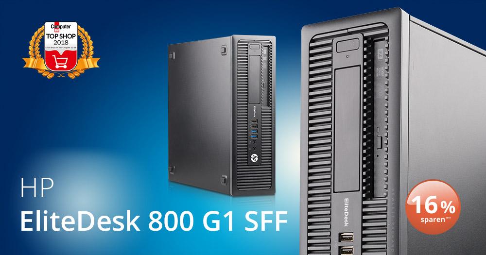 Bild des EliteDesk 800 G1 SFF PCs von HP