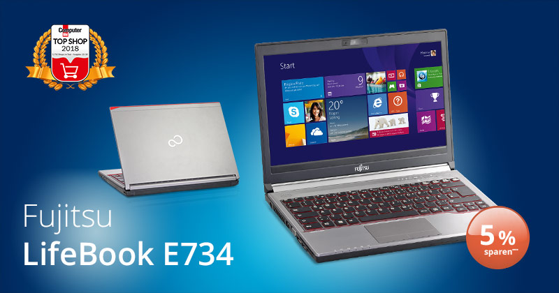 Deal der Woche: das elegante Fujitsu Lifebook E734