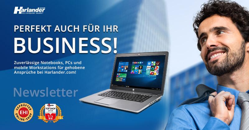 Perfekt auch für Ihr Business- gebrauchte mobile Workstations jetzt im Newsletter 325