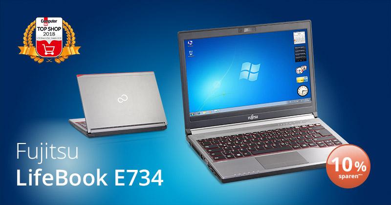 Deal der Woche: das Business-Notebook Fujitsu LifeBook E734 als B-Ware