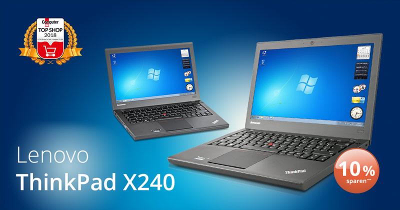 Deal der Woche: das Thinkpad X240 von Lenovo