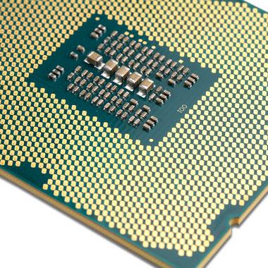Bild einer CPU