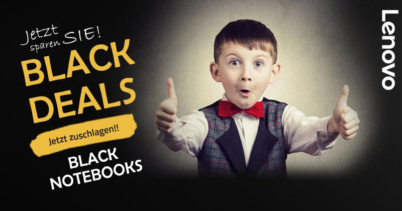 Black Deals Angebote – Lenovo Notebooks jetzt reduziert im Newsletter 329