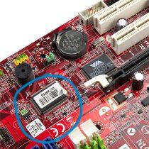 Bild eines BIOS-Chips