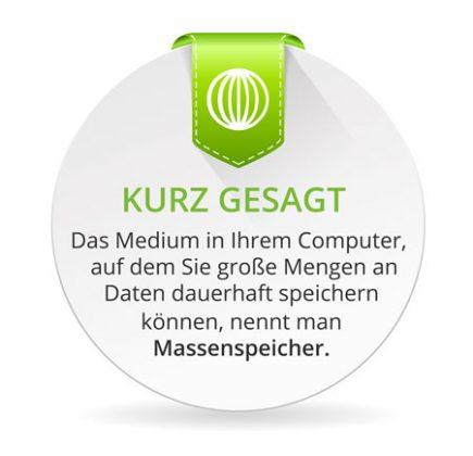 SSD, SSHD oder HDD sind Medien in Ihrem Computer auf dem Sie ihre Daten dauerhaft ablegen können und alle sind alle Massenspeicher. Der Unterschied liegt in der Technik begründet wie eine SSD, SSHD oder HDD speichern und lesen.