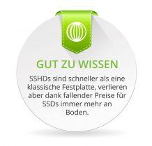 SSHD Festplatten verlieren gegenüber der SSD immer mehr an Relevanz