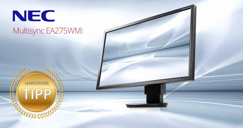 Test: Der NEC MultiSync EA275WMi Monitor ist Hardware-Tipp auf Harlander.com