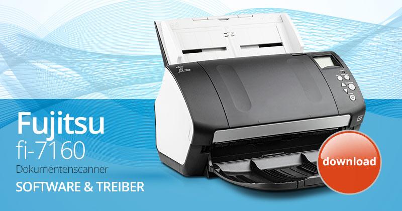 Software & Treiber für den Fujitsu fi-7160 Dokumentenscanner