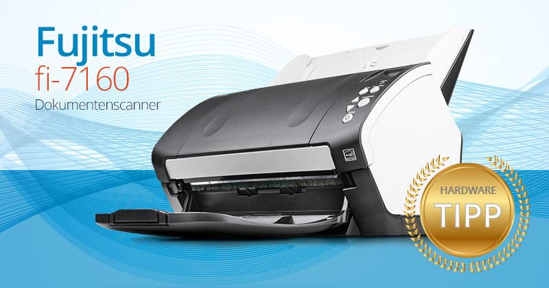Der verblüffend schnelle Fujitsu fi-7160 Dokumentenscanner im Test