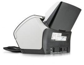 Die Rückseite des fi-7160 Dokumentenscanners