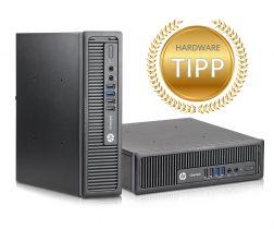 Ob für Schule, Beruf oder Studium - der HP EliteDesk 800 G1 USDT eignet sich für viele Einsatzgebiete