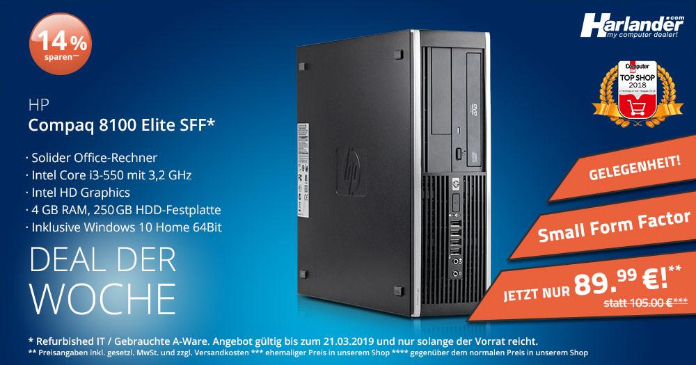 Schnäppchen! PC für unter 100 Euro mit Windows 10