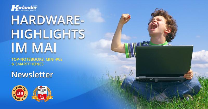 Gebrauchte Hardware bei Harlander.com – Newsletter 353