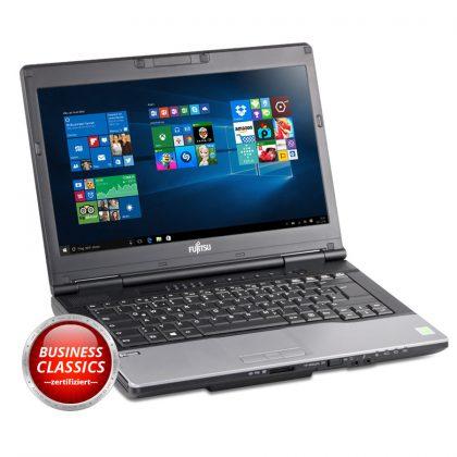 Gebrauchte Notebooks mit Gewährleistung müssen nicht teuer sein. Das Lifebook S752 überzeigt mit solider Leistung zu einem vernünftigen Preis.