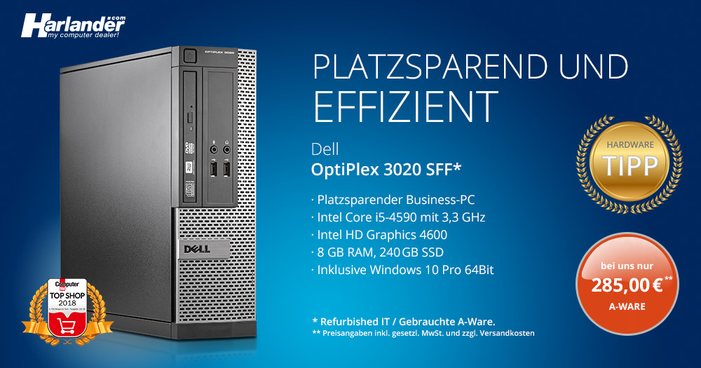 Dell OptiPlex 3020 SFF – Angebot der Woche