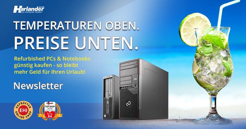 Sommerschnäppchen – Refurbished-PCs und Notebooks im Angebot -Newsletter 357