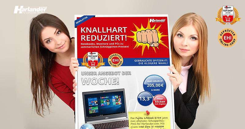 Knallhart reduziert! Notebooks, PCs & Monitore jetzt günstiger! Newsletter 364