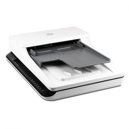 Eine solide Lösung für die regelmäßige Digitalisierung vieler Dokumente: Der HP ScanJet Pro F1 Flachbettscanner
