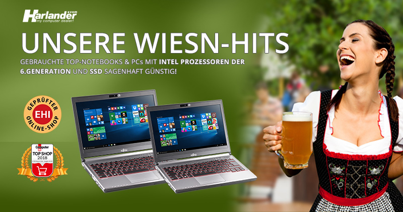 Fujitsu Notebooks & PCs mit junger Hardware : Unsere Wiesn-Hits!