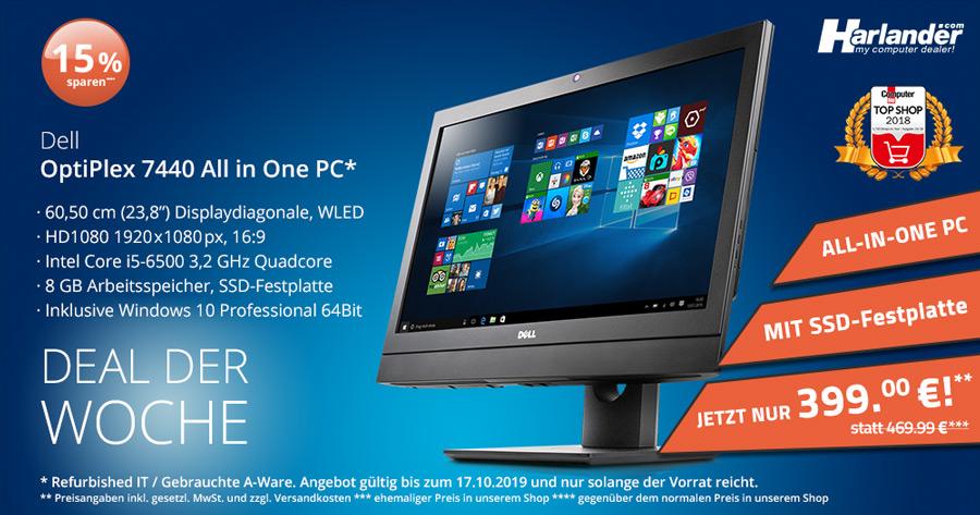 Deal der Woche: toller ALL-IN-ONE PC vom renommierten Hersteller Dell