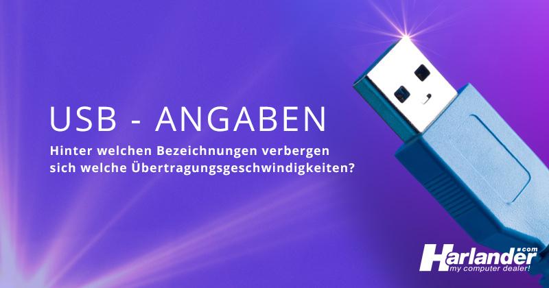 USB-Angaben bei Harlander.com – eine schnelle Übersicht