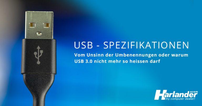 Banner des Blogartikels über die Umbenennungen alter USB-Spezifikationen