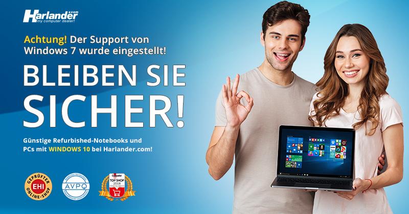 Gebrauchte Notebooks & PCs mit Windows 10 – Newsletter 380