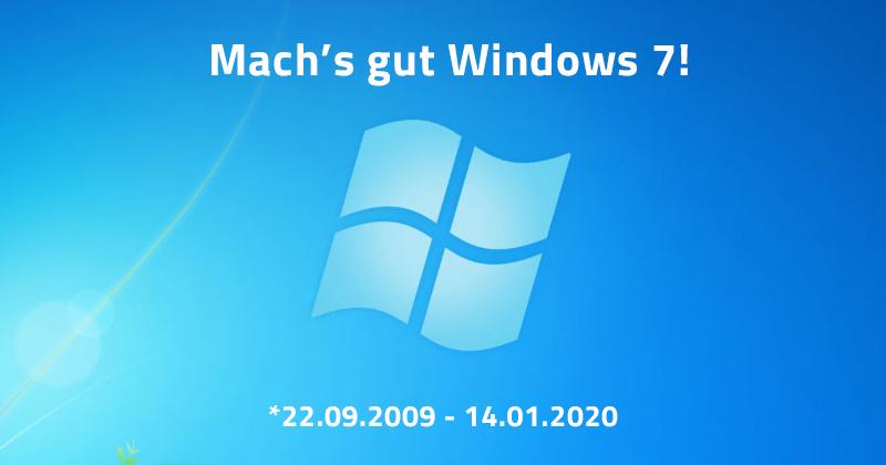Windows 7 – das Ende des Supports ist gekommen. Zeit für Alternativen.