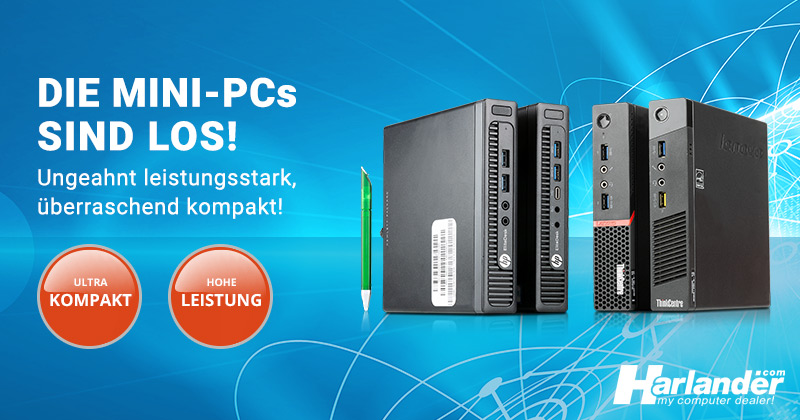 Mini-PCs – die smarte Alternative zum normalen PC