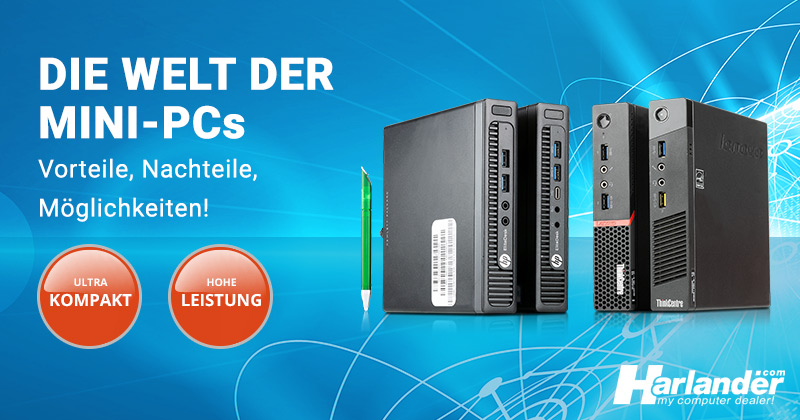 Mini-PCs – die smarte Alternative zum normalen PC oder Notebook
