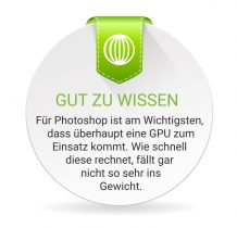 Photosshop bracuht keine High-End-Grafikkarte