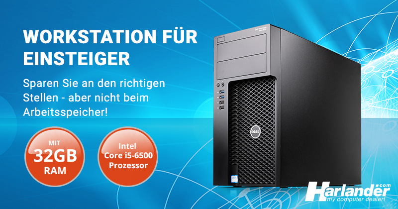 Workstation für Einsteiger – Der Dell Precision 3620 Tower PC