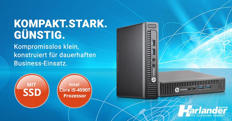 HP Elitedesk 800 G1 DM PC- günstig gebraucht kaufen