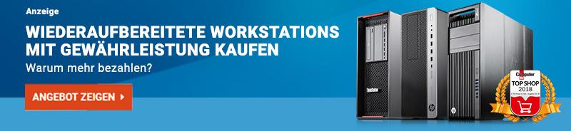 Beim Kauf von gebrauchten Workstations können Sie viel Geld sparen