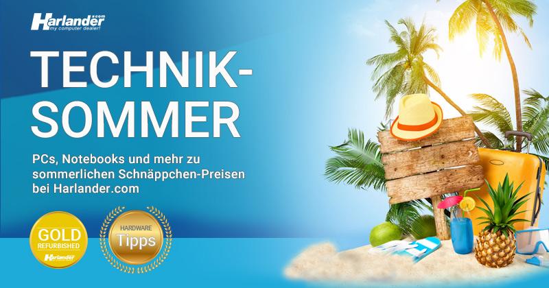 Angebot: Technik-Sommer bei Harlander.com – Newsletter 407