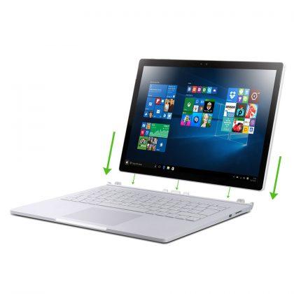 Microsoft Surface Book entriegelt - jetzt können sie ein gebrauchtes Surface Book von Microsoft bei Harlander.com kaufen.