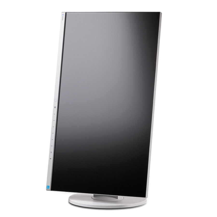 Monitor mit großartigen ergonomischen Eigenschaften. Auch eine Pivot-Funktion bietet der Eizo FlexScan 2450