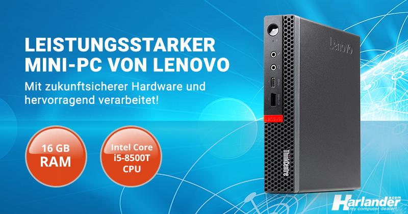 Günstiger und leistungsstarker Mini-PC von Lenovo – ThinkCentre M920q Tiny