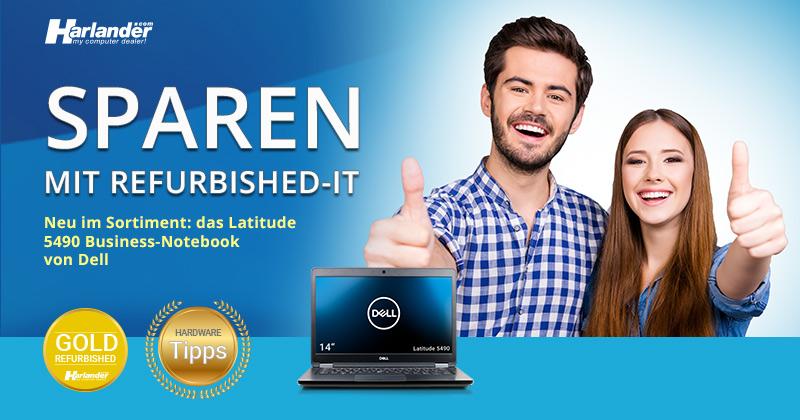 Notebooks von Dell neu eingetroffen- Newsletter 426 von Harlander.com