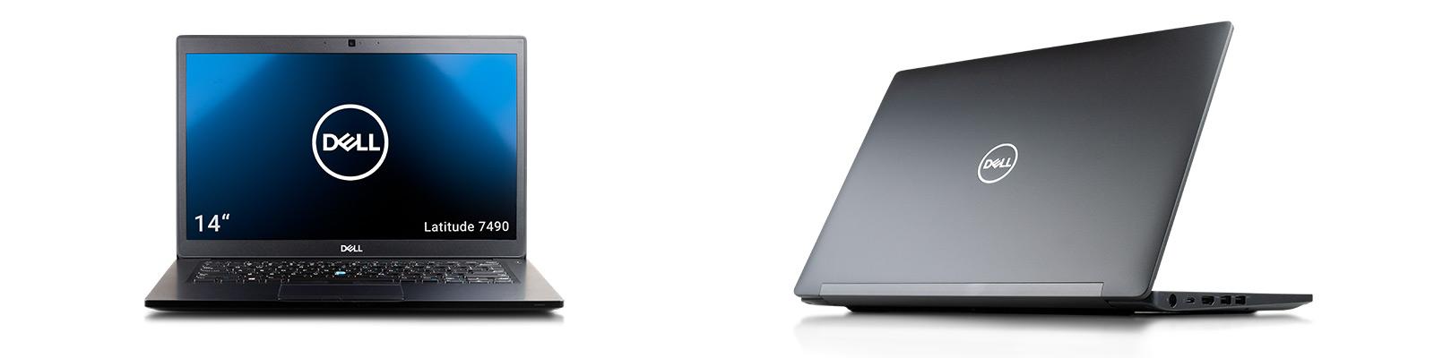 Das Latitude 7490 punktet mit einem guten, matten Display, das dennoch Touch-Funktionalität aufweist.