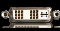 DVI-I für Auflösungen bis zu 1920 auf 1200 Pixel